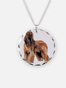 RDORN-afghan-hound-christmas Necklace