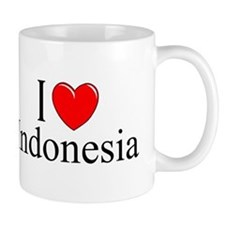 """I Love Indonesia"" Mug"