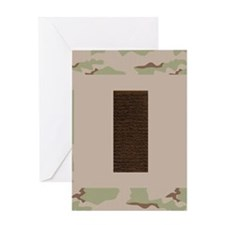 USAF-2Lt-Mousepad-Desert Greeting Card