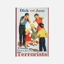 Dick and Jane - Rectangle Magnet
