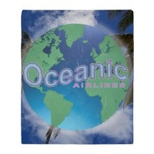 Oceanic Airlines Mini Poster Throw Blanket