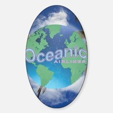 Oceanic Airlines Mini Poster Decal