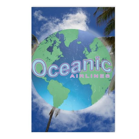 Oceanic Airlines Mini Pos Postcards (Package of 8)