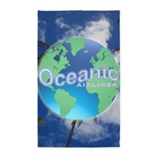 Oceanic Airlines Large Poster 3'x5' Area Rug