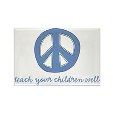 peace_printready Rectangle Magnet