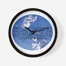 spinalsurgeon Wall Clock