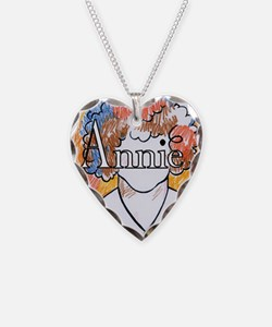 Annie_ornament_oval Necklace