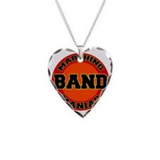 marching band maniac Necklace Heart Charm