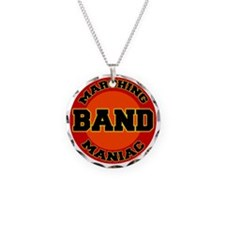 marching band maniac Necklace Circle Charm