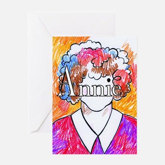 Annie(10X10) Greeting Card