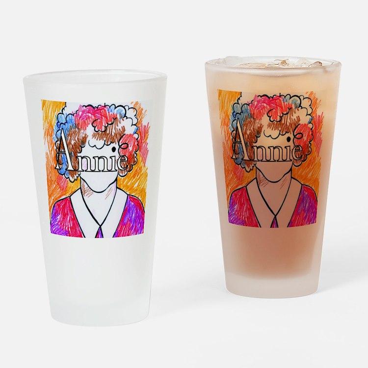 Annie(10X10) Drinking Glass