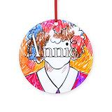 Annie Round Ornaments
