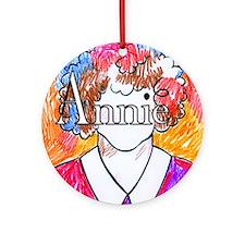 Annie(10X10) Round Ornament