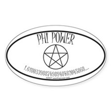 Phi Power Oval Decal