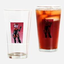 spacegirl standard shirt 1 Drinking Glass