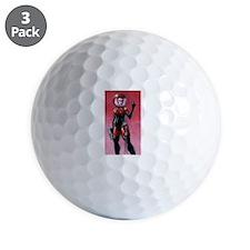 spacegirl standard shirt 1 Golf Ball