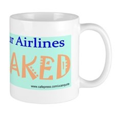 Fly Naked Bumper Blue Mug