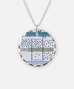 Diffusion Happens Necklace