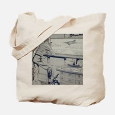 Tom Swift Junior lab Tote Bag