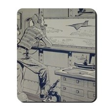 Tom Swift Junior lab Mousepad
