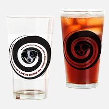 collie domination Drinking Glass
