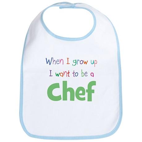 When I Grow Up Chef Bib