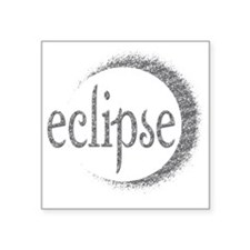 """eclipse Square Sticker 3"""" x 3"""""""