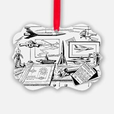 Drawing Board Inventions Ornament