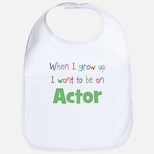 When I Grow Up Actor Bib