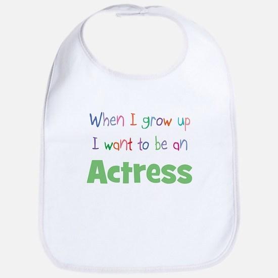 When I Grow Up Actress Bib