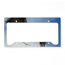 14x6_print 2 License Plate Holder