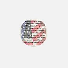 SIMPSON-MAZZOLI ACT Mini Button