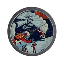 Outpost in Space Tom Swift Wall Clock