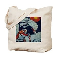 Outpost in Space Tom Swift Tote Bag
