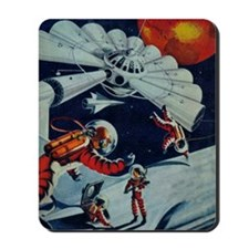 Outpost in Space Tom Swift Mousepad