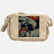 Outpost in Space Tom Swift Messenger Bag