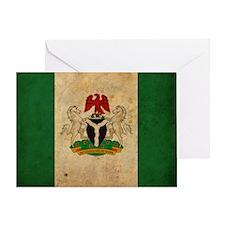 vintageNigeria3 Greeting Card