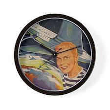 Tom Swift Flying Lab Wall Clock