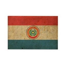 vintageParaguay2 Rectangle Magnet