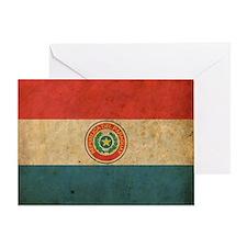 vintageParaguay2 Greeting Card