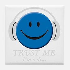 trust-me---dark-tops Tile Coaster