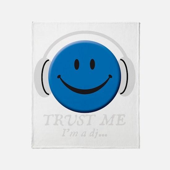 trust-me---dark-tops Throw Blanket