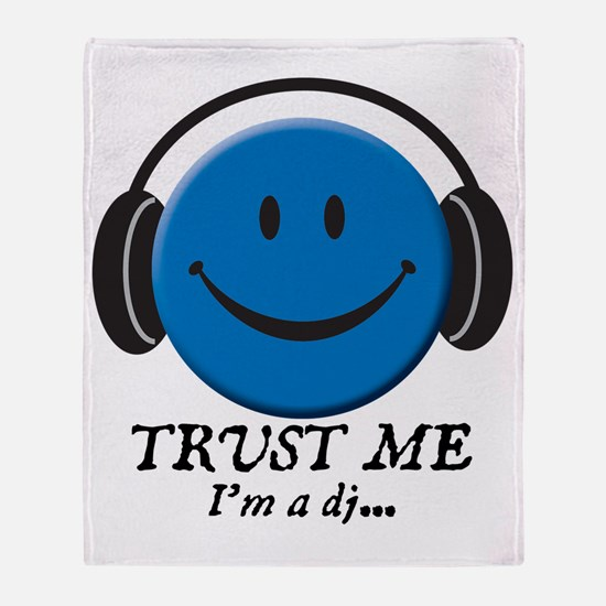 3-trust-me Throw Blanket