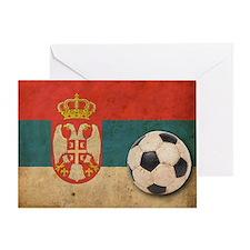 vintageSerbia4 Greeting Card
