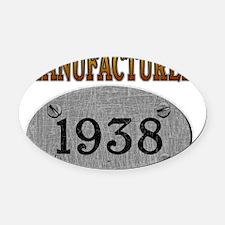 1938 Oval Car Magnet