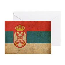vintageSerbia3 Greeting Card