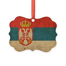 vintageSerbia3 Ornament