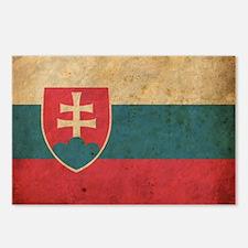 vintageSlovakia3 Postcards (Package of 8)