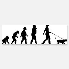 Dogwalking Car Car Sticker