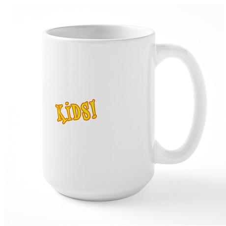 WCPL-Kids-Logo-white Large Mug